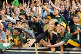 Fans at the Boxing Day Test told to behave