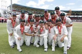 Australia win Test series against WI