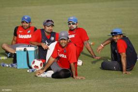 Indian team camp ends abruptly due to rain