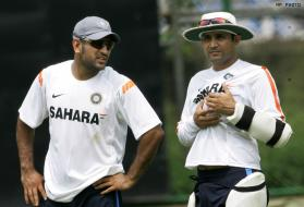Indian cricketers undergo training session