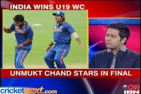 Unmukt's father proud of victorious India