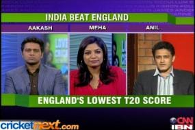 World T20: India 'spin' England out