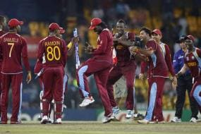 WI thrash Aus by 74 runs, will face SL in the final