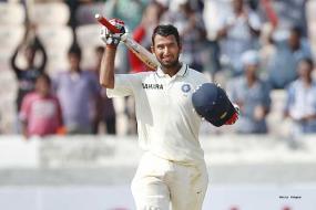 Pujara batting on a different level than India's big guns