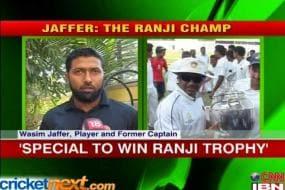40th Ranji title is special achievement: Jaffer