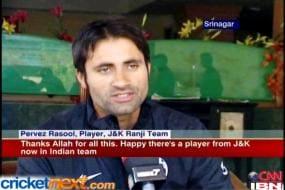 Allrounder Parvez Rassol makes J&K proud