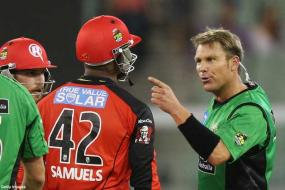 Shane Warne banned, fined after ugly T20 bust-up