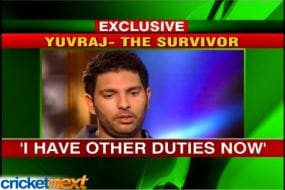 There is more to life than cricket: Yuvraj Singh