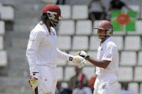 2nd Test: Gayle and Chanderpaul turn screw on Zimbabwe