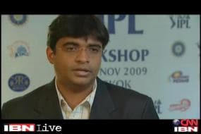 Meiyappan seen addressing a conclave as CSK owner in a 2009 video