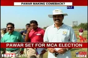 Pawar's decision to contest MCA polls could spell trouble for Srinivasan