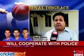 RTI won't check spot-fixing, says IPL chief Rajiv Shukla