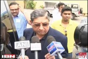 The media is hounding me: BCCI chief Srinivasan