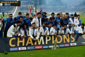23rd June 2013: India Beat England in Rain-curtailed Match to Lift Title