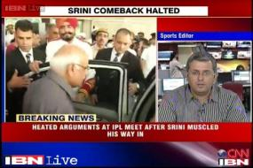 BCCI divided over Srinivasan's presence at Working Committee meet