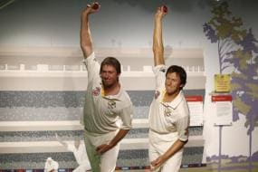 McGrath's wax statue unveiled at Madame Tussauds Sydney
