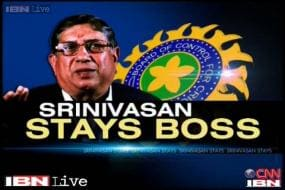 N Srinivasan still rules the BCCI