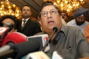 You can't push me out, says a defiant N Srinivasan