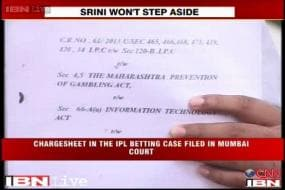 IPL: Meiyappan charged with betting, provided details to Vindoo