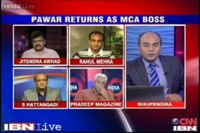Is Sharad Pawar set to take over the reins of Indian cricket administration?