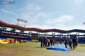 Rain clouds hang over Kochi ODI between India and West Indies