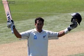 1st Test: Taylor's double century puts NZ on top