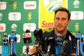 Satisfied with draw result: Faf du Plessis