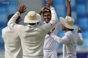 2nd Test: Pakistan 165 all out; Sri Lanka 57 for 1 at stumps on Day 1