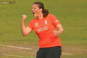 Anya Shrubsole named women's player of the tournament at World T20