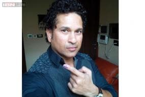 Sachin Tendulkar begins birthday by casting vote, wishes pour in