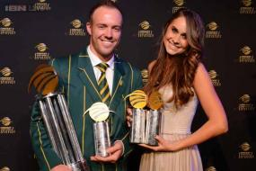 De Villiers named South African Cricketer of the Year