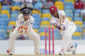 3rd Test: Rain restricts West Indies to 169/2 against New Zealand on Day 2