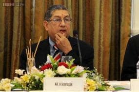 I haven't done anything to tarnish the game's image: N Srinivasan