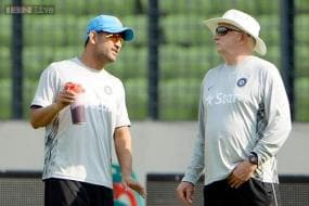'Boss' Duncan Fletcher will lead India into World Cup, says MS Dhoni