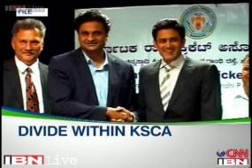 Kumble, Srinath walk out of KSCA meet