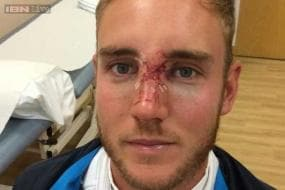 Injured Stuart Broad may play fifth Test with face mask