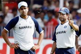 Sachin Tendulkar congratulates Rohit Sharma for double ton