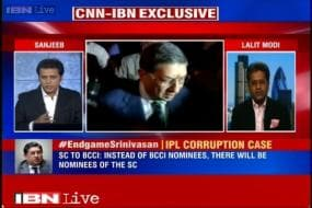 N Srinivasan runs BCCI like a mafia, says Lalit Modi