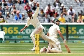 Shaun Marsh joins select club run out on 99