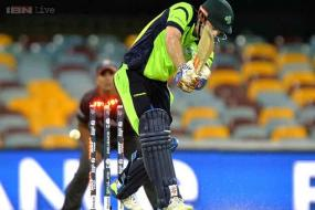 ICC World Cup: Ball hits the stumps, bails don't fall, Ed Joyce survives