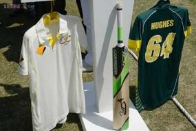 Phillip Hughes bat to be raised atop Everest
