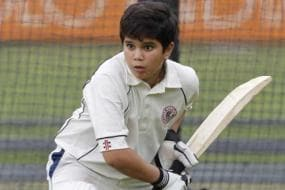 Sachin Tendulkar's son Arjun hammers 106 in an under-16 match