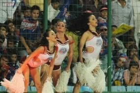 There are pigs everywhere and slime-balls behind me: IPL cheerleader