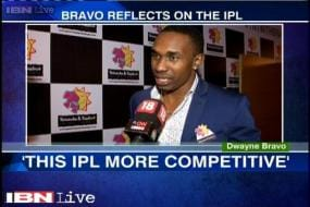 This year's IPL has been very competitive: Dwayne Bravo
