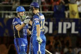 IPL 8: Watson, Morris star as RR beat KKR to qualify for play-offs