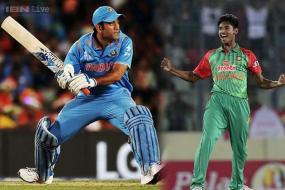 Dhoni-Mustafizur 'shovegate' may fire India up to win series