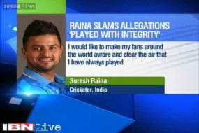 I have never been involved in any wrong doing: Suresh Raina