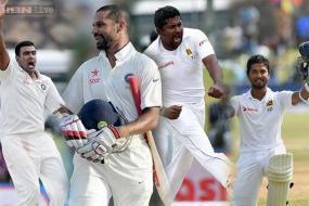 1st Test: Herath-Chandimal get the better of Ashwin-Dhawan