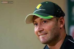 I wanted to send a positive message to my team-mates: Michael Clarke