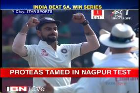 Team India seal series win against South Africa